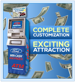 Customizable ATM Trade Show Game