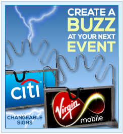 Giant Buzz Wire Game for Conventions and Trade Shows