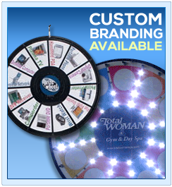 Promotional Prize Wheels for Conventions and Trade Shows