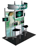 hybrid trade show display